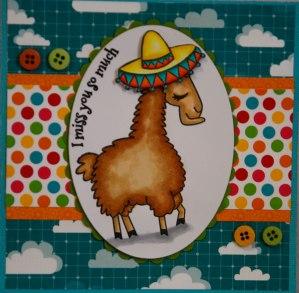i miss you sandrea pretty cute stamps