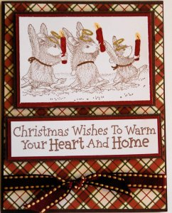 christmas wish House Mouse Challenge