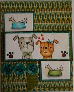 dogs Sandra Reverse Confetti
